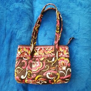 Vera Bradley Puccini brown and pink Bag